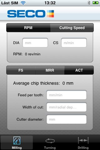 Seco Tools Assistant Mobile App for CNC Machinist