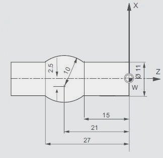 CNC Program Example G03 Circular Interpolation