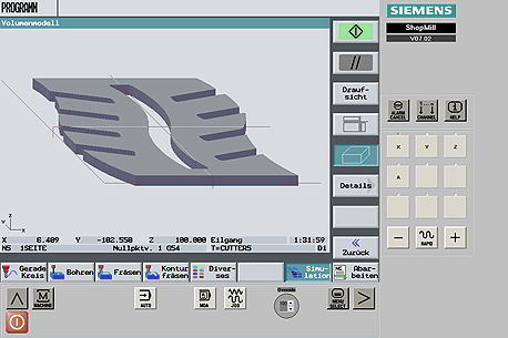 SinuTrain – Siemens CNC Simulation Software