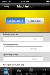 Sandvik Coromant Drilling Calculator App for Optimize Drilling and Tapping operations