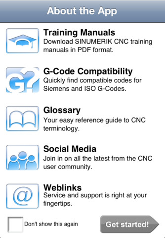 Siemens Easy CNC App for iPhone iPad