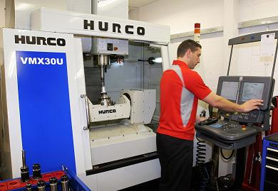 Hurco VMX30U 5 axis machining centre