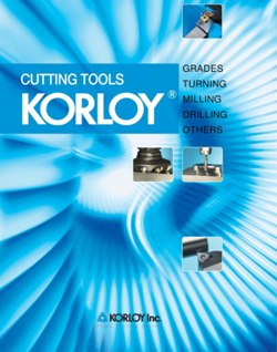 Korloy Cutting Tools Catalogue
