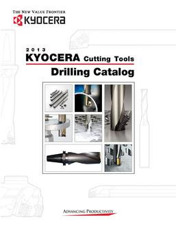 Kyocera Cutting Tools and Inserts Catalog