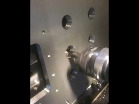 Fanuc G76 Fine Boring Cycle Video