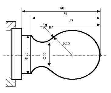 CNC Arc Programming G02 G03 Example