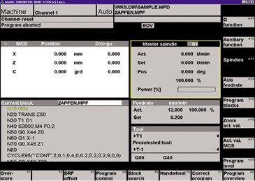 EMCO WinNC Software/ Manuals Free Download Simulator Fanuc Fagor