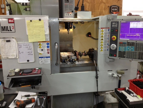 Haas Mini Mill 2 CNC Vertical Machining Center