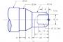 CNC Lathe Program OD Turning Drilling ID Boring with G71 G74